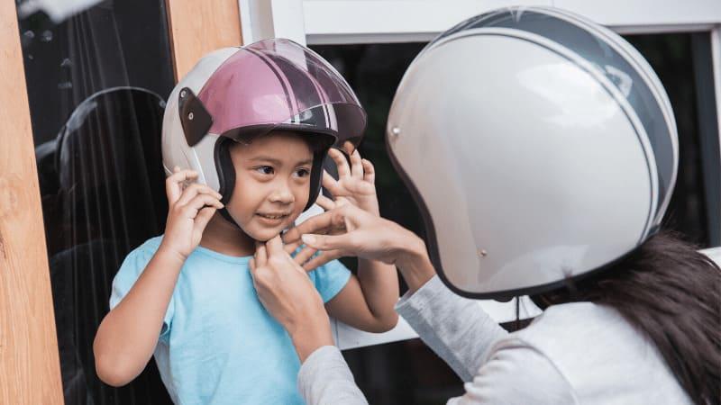 casco de moto para niños, cascos infantiles