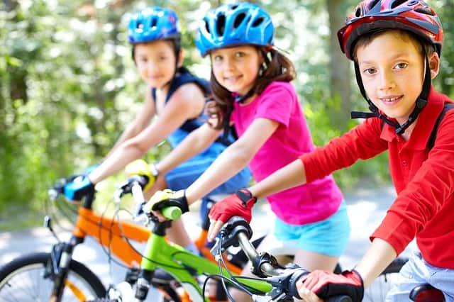 Cascos bici niños